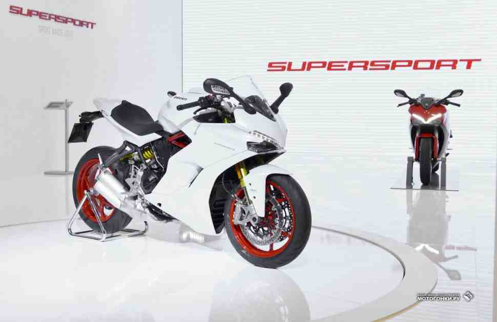 INTERMOT-2016: Ducati Supersport официально представлен!