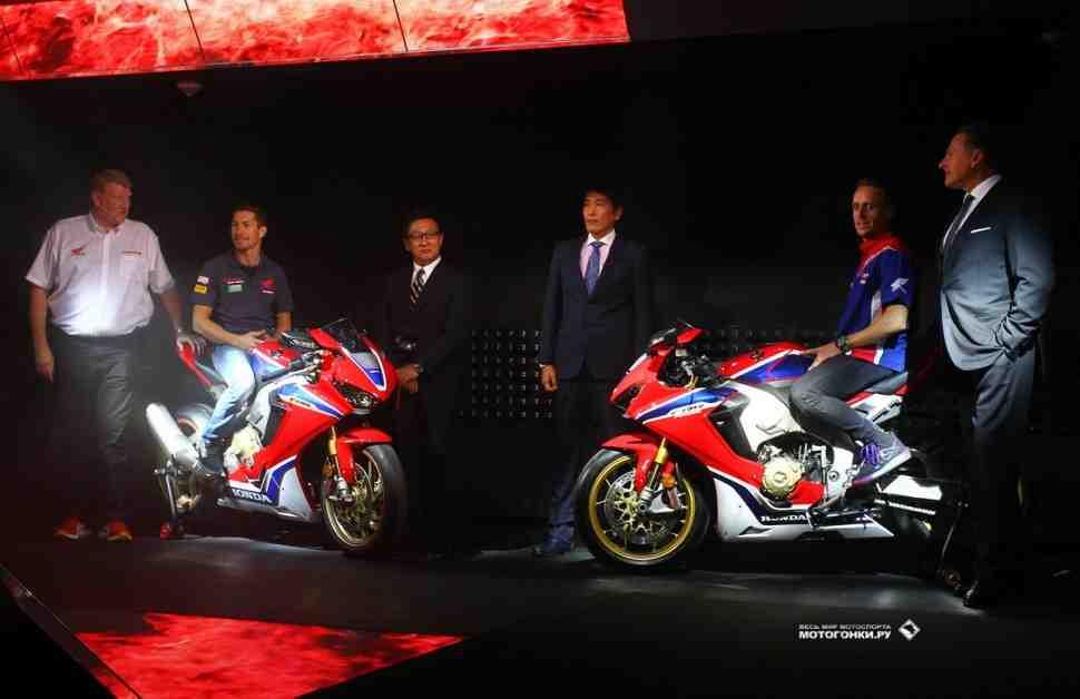 INTERMOT-2016: Honda Fireblade CBR1000RR - с технологиями из MotoGP