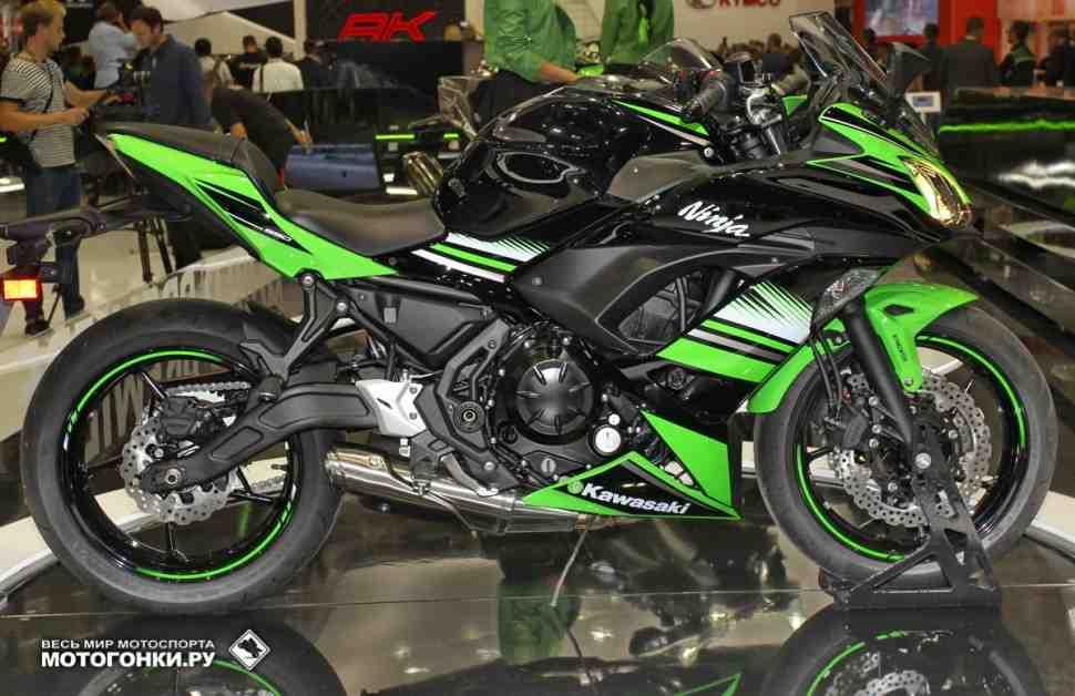 INTERMOT-2016: Kawasaki Ninja 650 - компромисс во всем