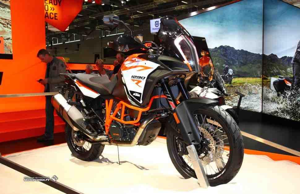 INTERMOT-2016: KTM показал новую линейку Adventure и Super Adventure