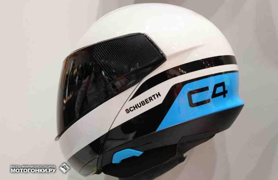 INTERMOT-2016: Новинки мотошлемов - Schuberth C4 и R2
