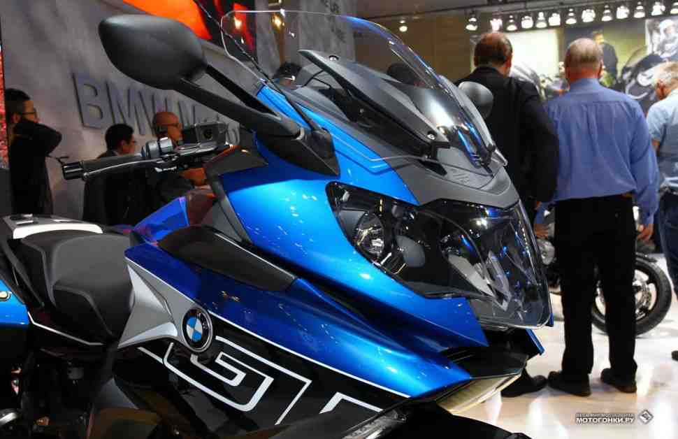 INTERMOT-2016: Новый BMW K1600GT оснащен функцией Intelligent Emergency Call