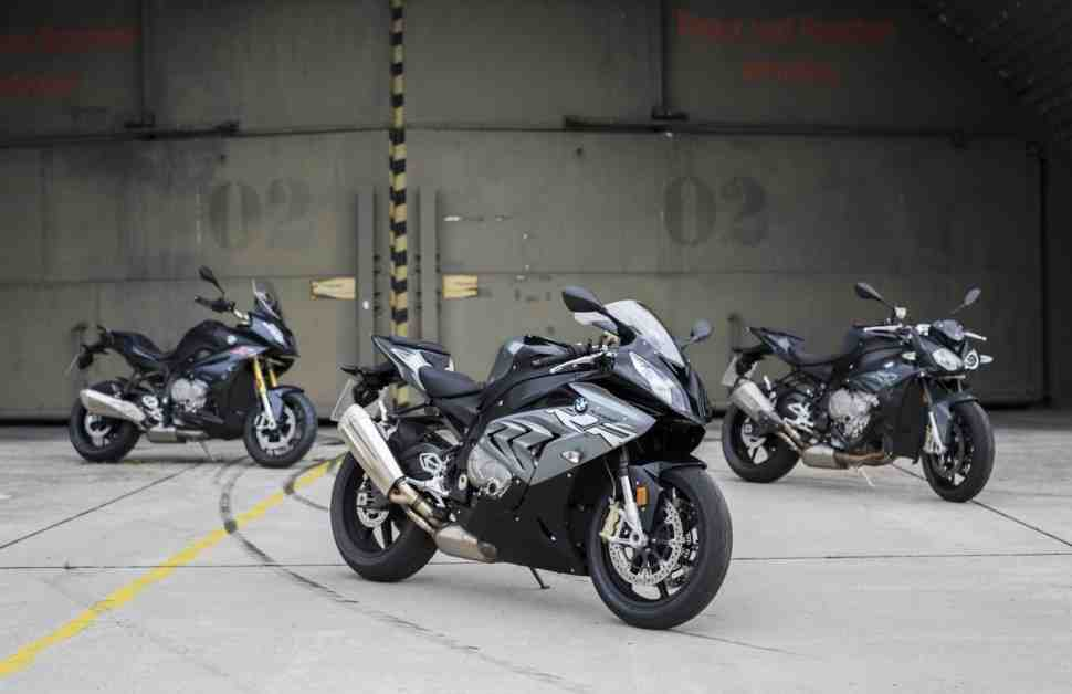 INTERMOT-2016: Обновление BMW S 1000 RR, S 1000 R и S 1000 XR