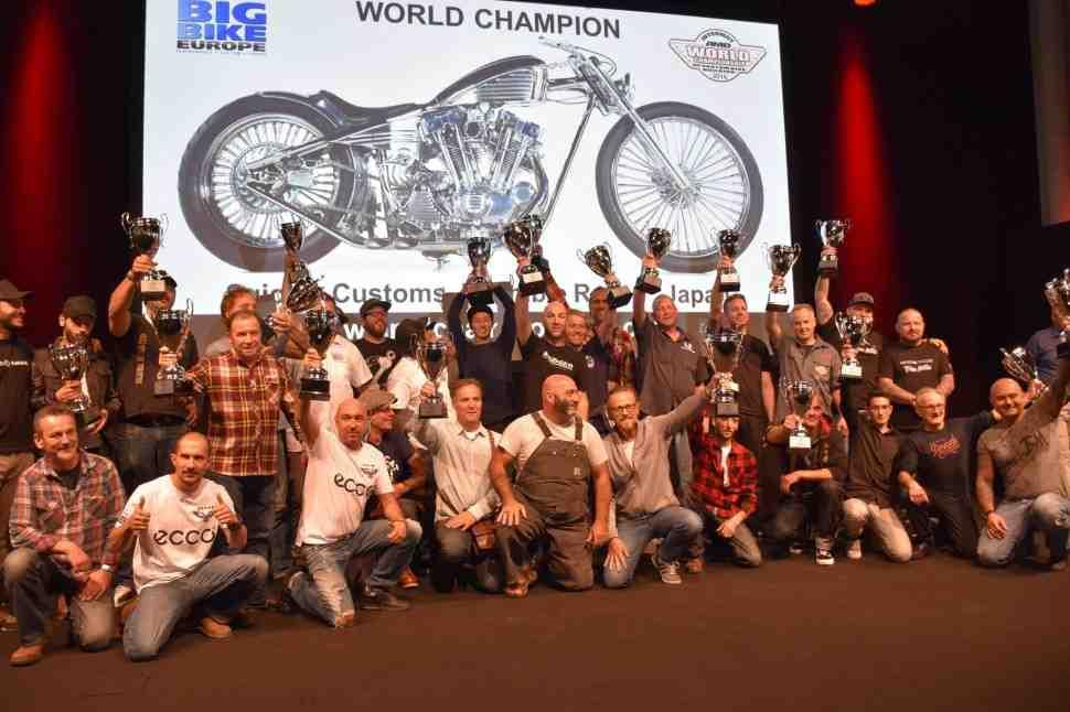 INTERMOT-2016: Русский мотоцикл Bonny в призерах чемпионата мира по кастомайзингу AMD