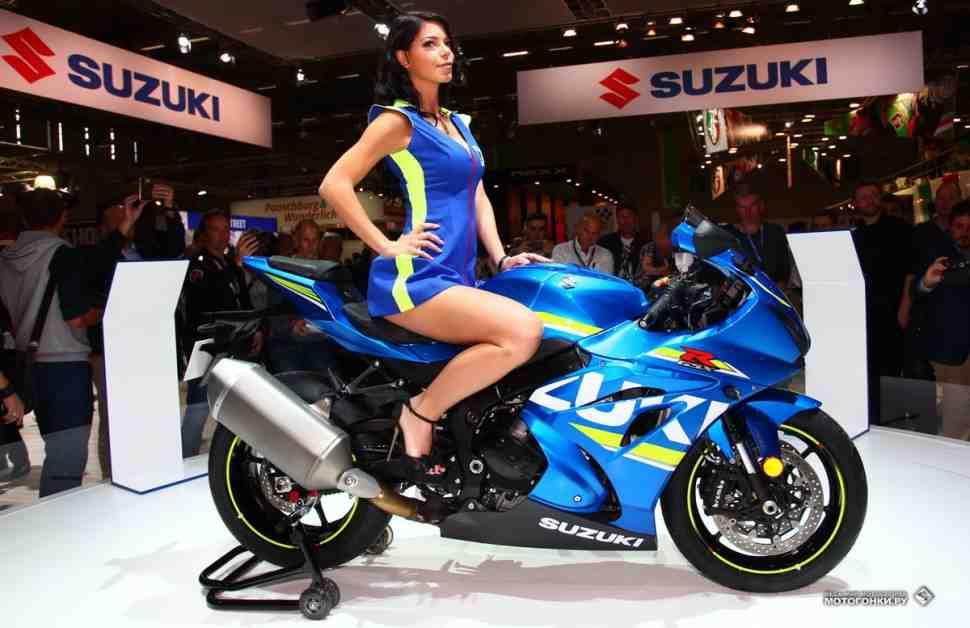 INTERMOT-2016: Suzuki GSX-R1000 - полный комплект и 200 л.с.