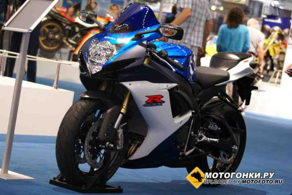 INTERMOT: Все о Suzuki GSX-R600 и 750 (2011)