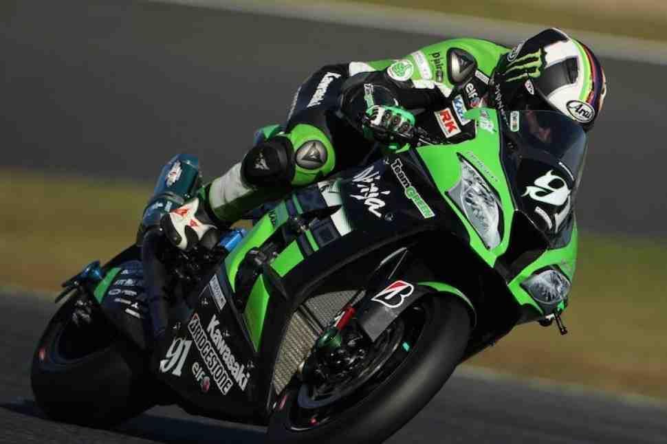 JSBK: Хезлам финишировал на подиуме в Suzuka с Kawasaki Team Green