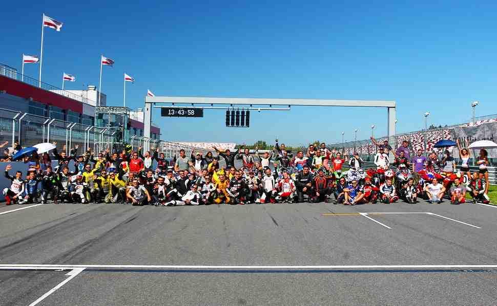 Календарь трек-дней TrackRaceDays 2017 на Moscow Raceway