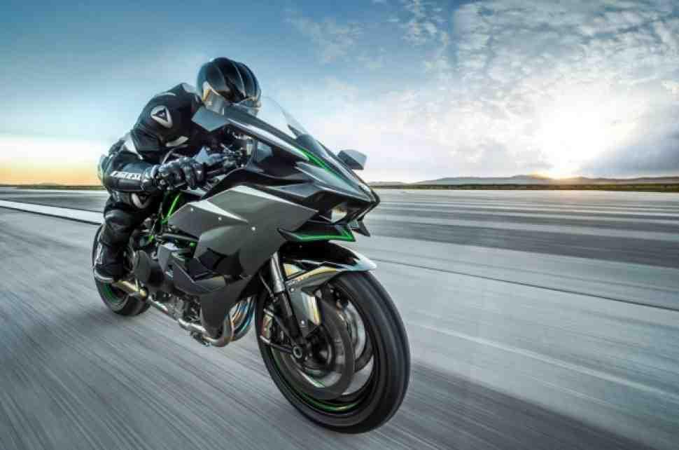 Kawasaki Ninja H2R дебютирует на Isle of Man TT 2015 года