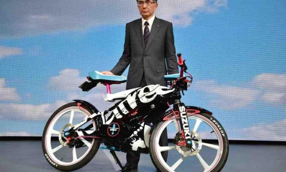 Концепт мотоцикла Suzuki Feel Free Go!