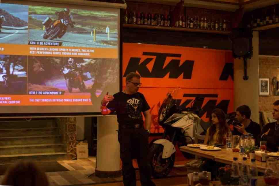 KTM 1290 Super Adventure официально представлен в России