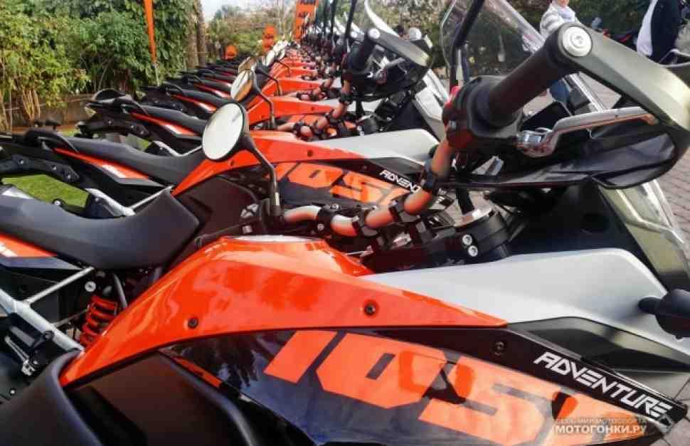 KTM снижает цены на 1050 Adventure до 699 тыс. руб.