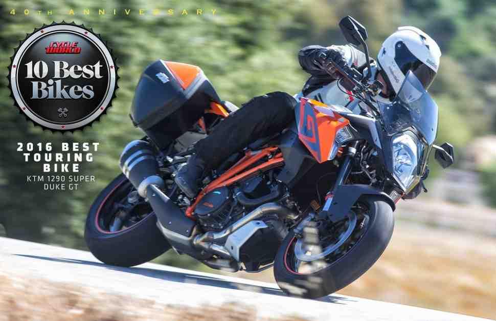 KTM Super Duke GT назван лучшим туринговым мотоциклом в США