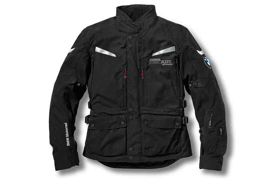 Куртка BMW Street Air Dry: с жилетом безопасности Alpinestars Tech-Air