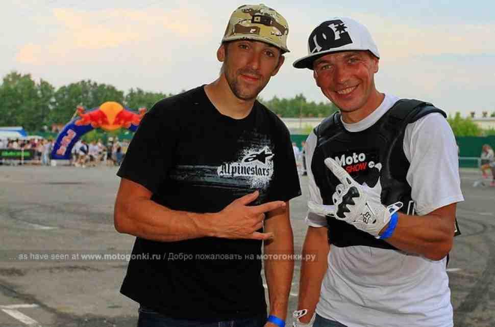 Марат Канкадзе представил MOTOSHOW на Stunt Jam 2010