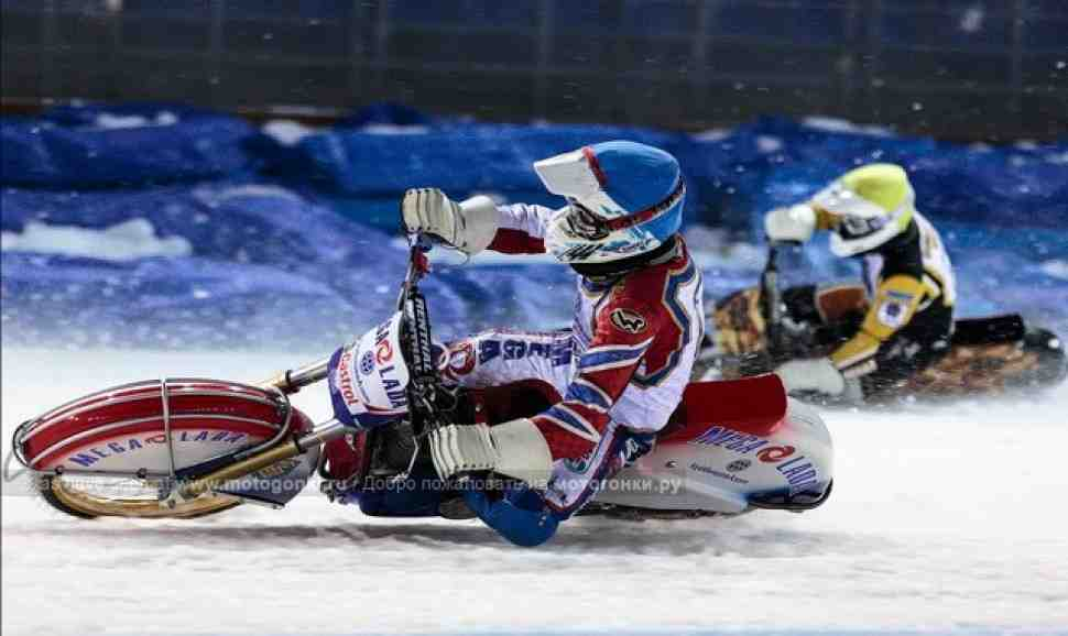 Мега-Лада готова  к первой гонке ледового сезона!