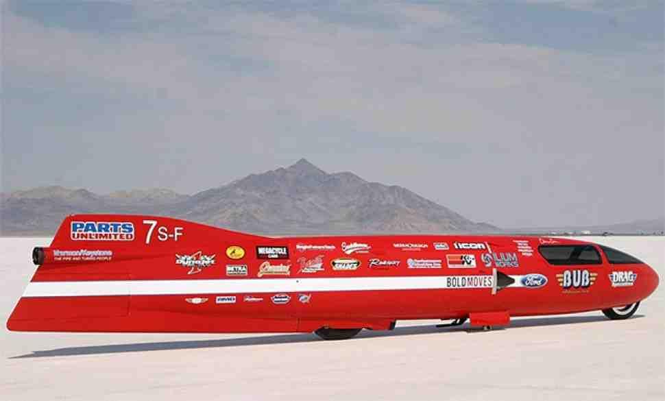 Мировые рекорды скорости побиты в Бонневиле