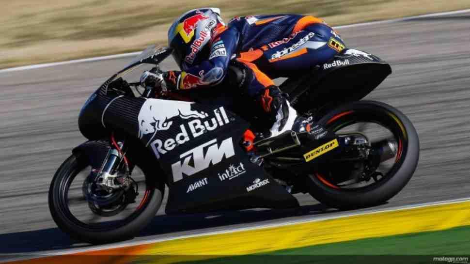 Moto3: Пилоты KTM бьют время круга GP125