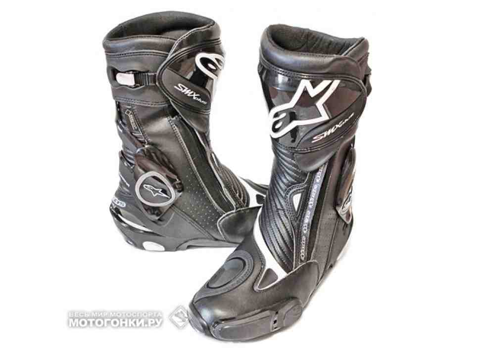 Мотоботы Alpinestars SMX Plus Gore-Tex (2013) - что нового?