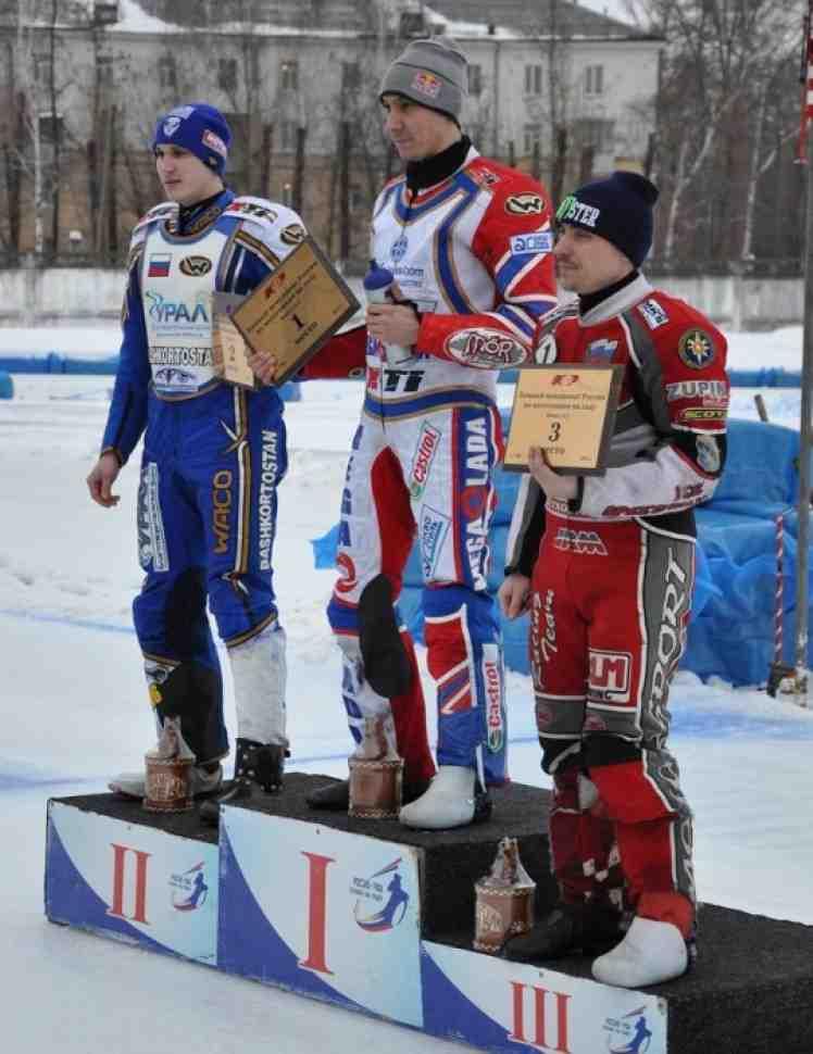 Мотогонки на льду: Даниил Иванов - Чемпион России 2014