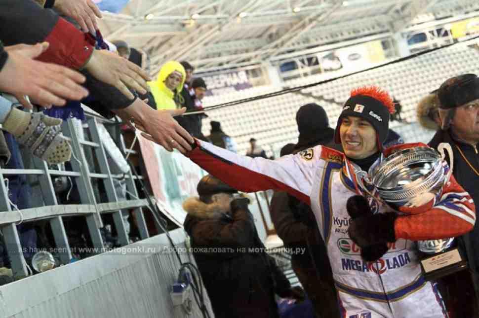 Мотогонки на льду: Даниил Иванов – Чемпион России