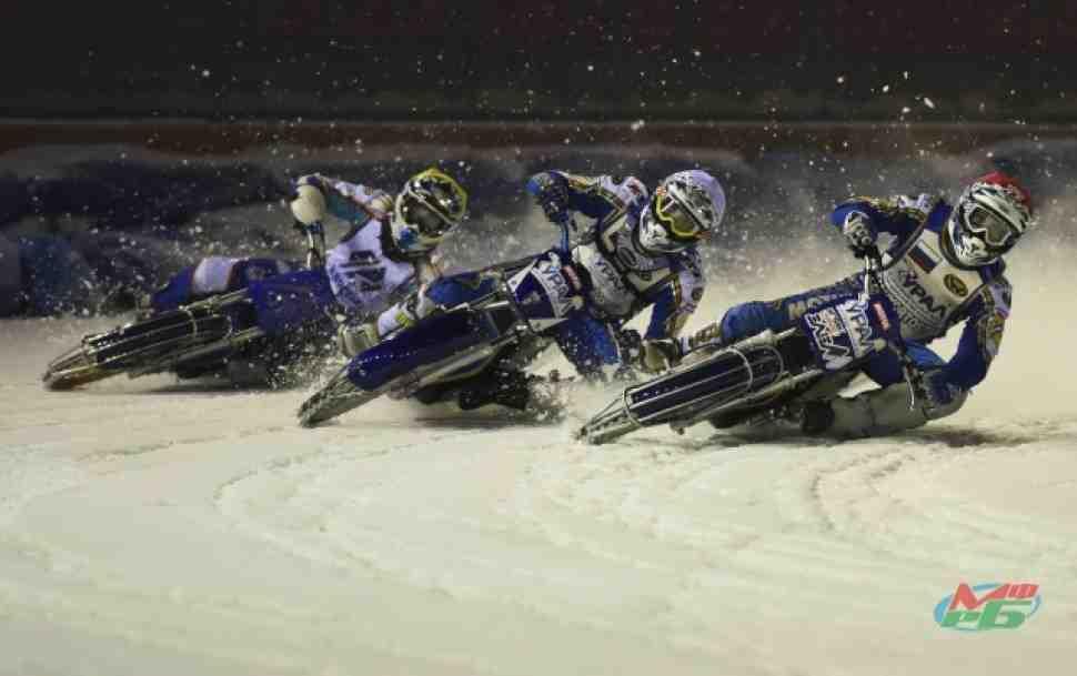 Мотогонки на льду: горячий первый этап ЧР