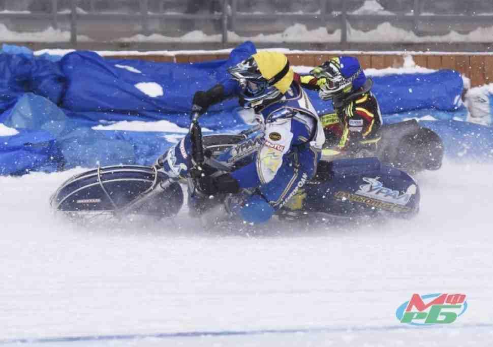 Мотогонки на льду: Уфа - прямой эфир 3-4 этап ЛЧР (видео)