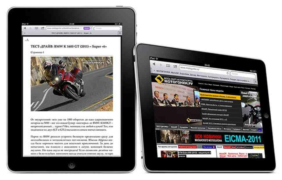 МОТОГОНКИ.РУ удобнее читать на iPad!