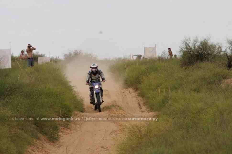 Настя Логинова: в Хазарских степях на не бодром старичке