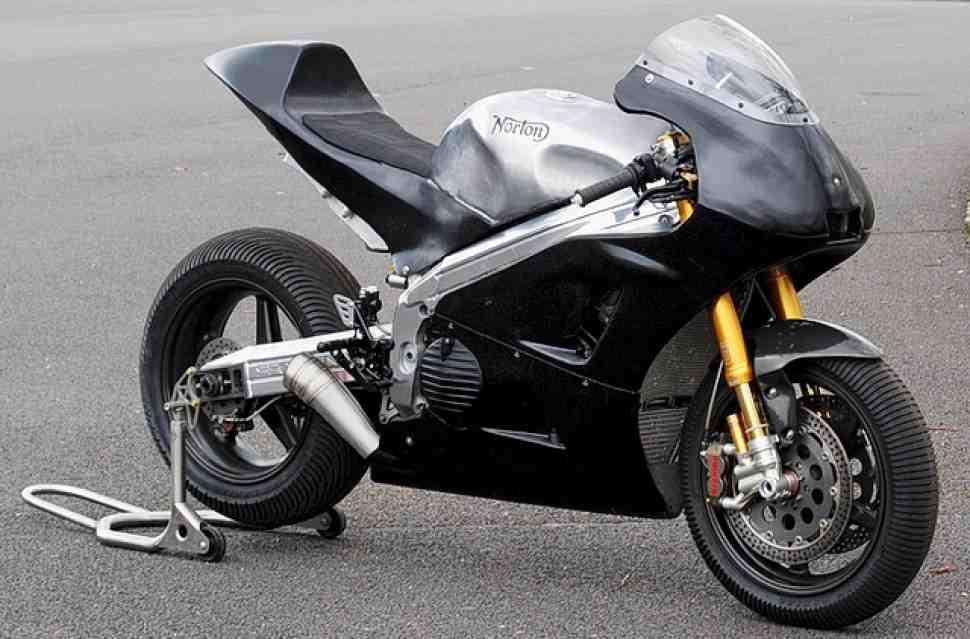 Не попав в MotoGP, Norton меняет ориентацию на Супербайк