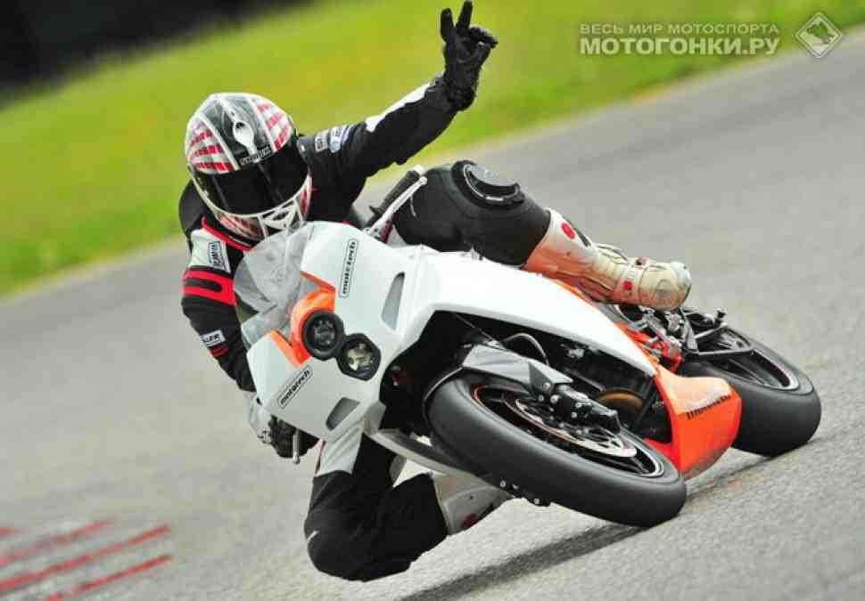 """Немцы выводят KTM Duke 690 на """"кольцо"""""""