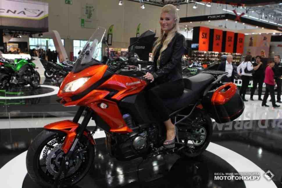 Обзор Kawasaki Versys 1000 (2015): новая версия бестселлера