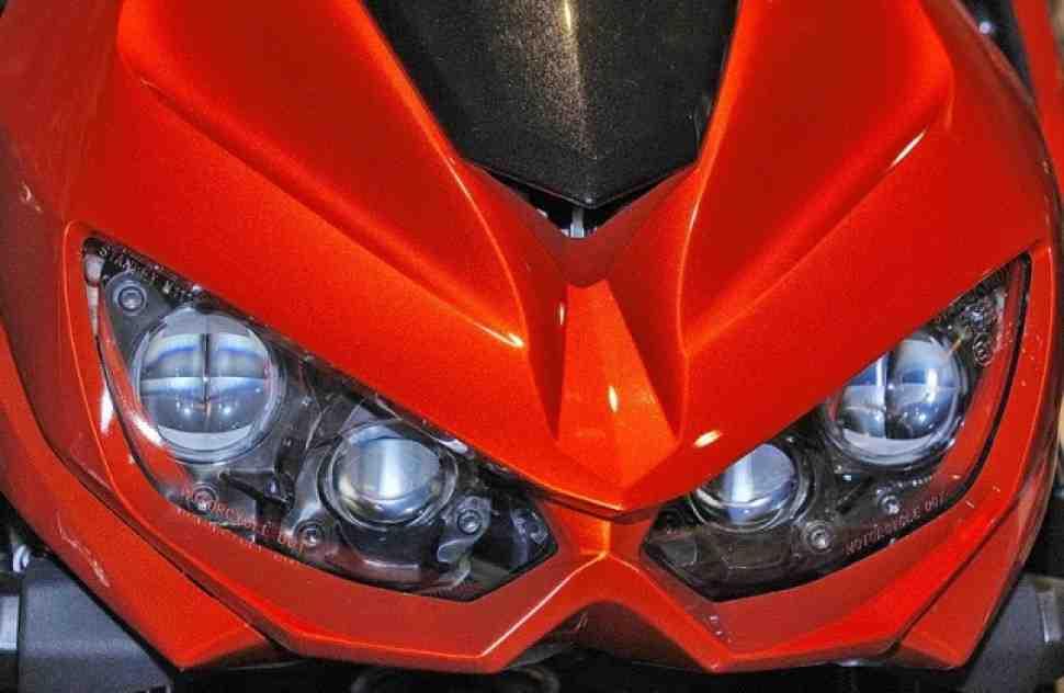 Обзор Kawasaki Z1000 (2014) - Name of Sugomi