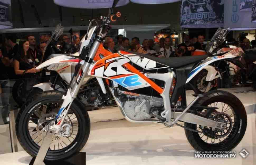 Обзор: KTM FREERIDE E-SX и E-SM на INTERMOT-2014