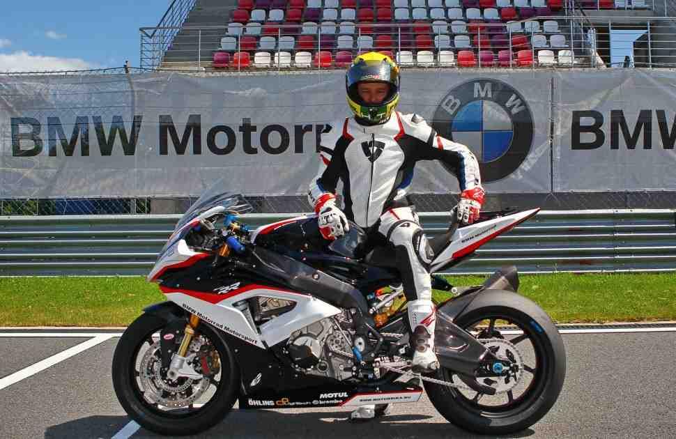 Официальный BMW Motorrad Racing Support представлен компанией Motorrika