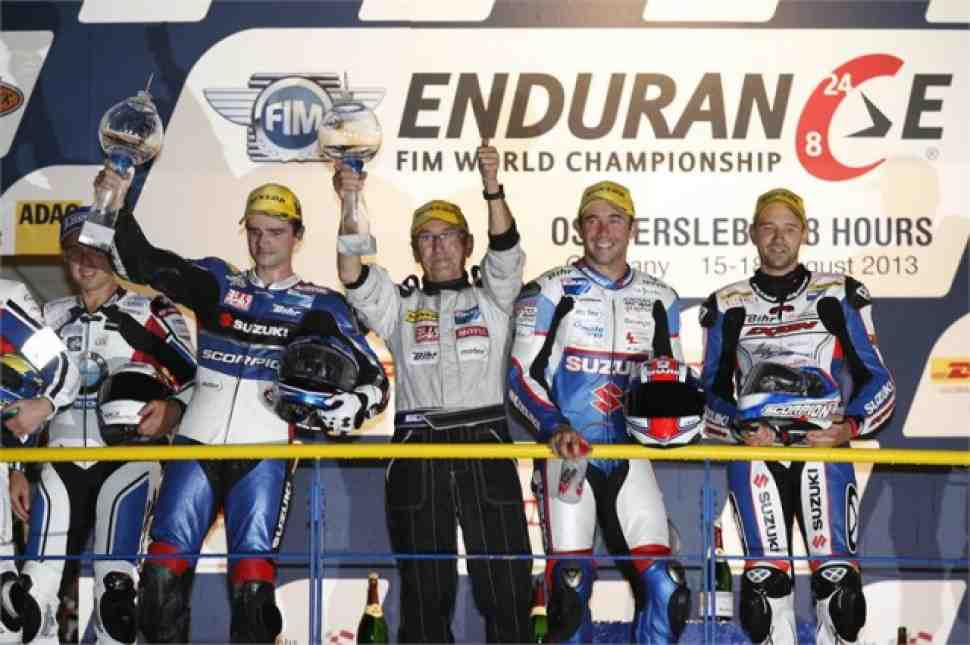 Ошерслебен: Suzuki возвращает лидерство в World Endurance