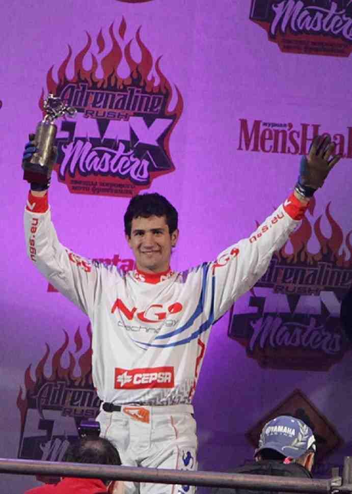 Первый день Adrenaline Rush FMX Masters выигрывает Дани Торрес