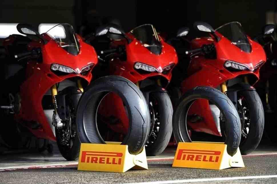 Pirelli DIABLO Supercorsa SP – на конвейере Ducati 1299 Panigale