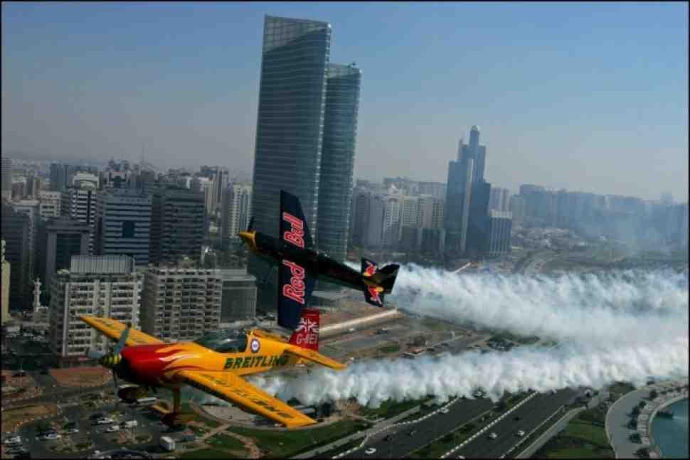 Red Bull Air Race стартует в Абу Даби 26-27 марта