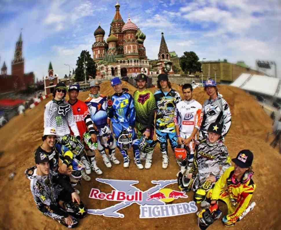 Red Bull X-Fighters 2010, Москва: пост-релиз