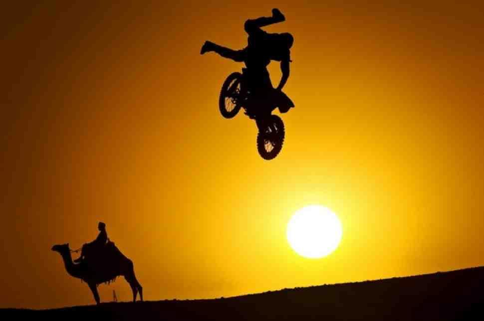 Red Bull X-Fighters: фотогалерея из Египта на МОТОГОНКИ.РУ