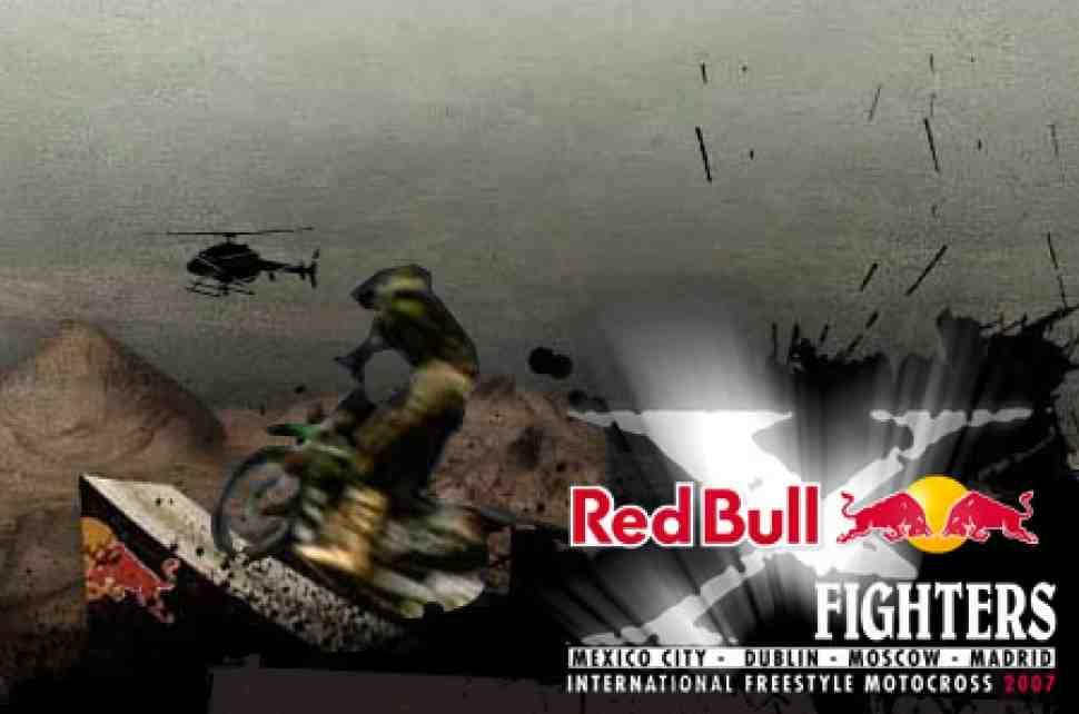 Red Bull X-Fighters в Москве!