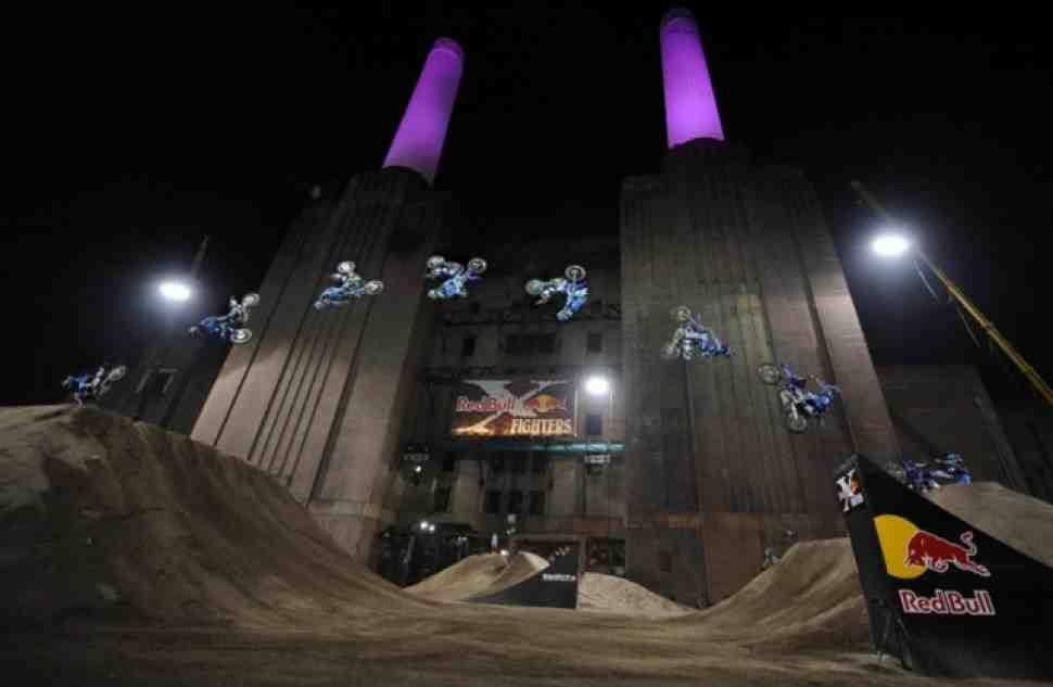 Red Bull X-Fighters вернется на лондонскую электростанцию