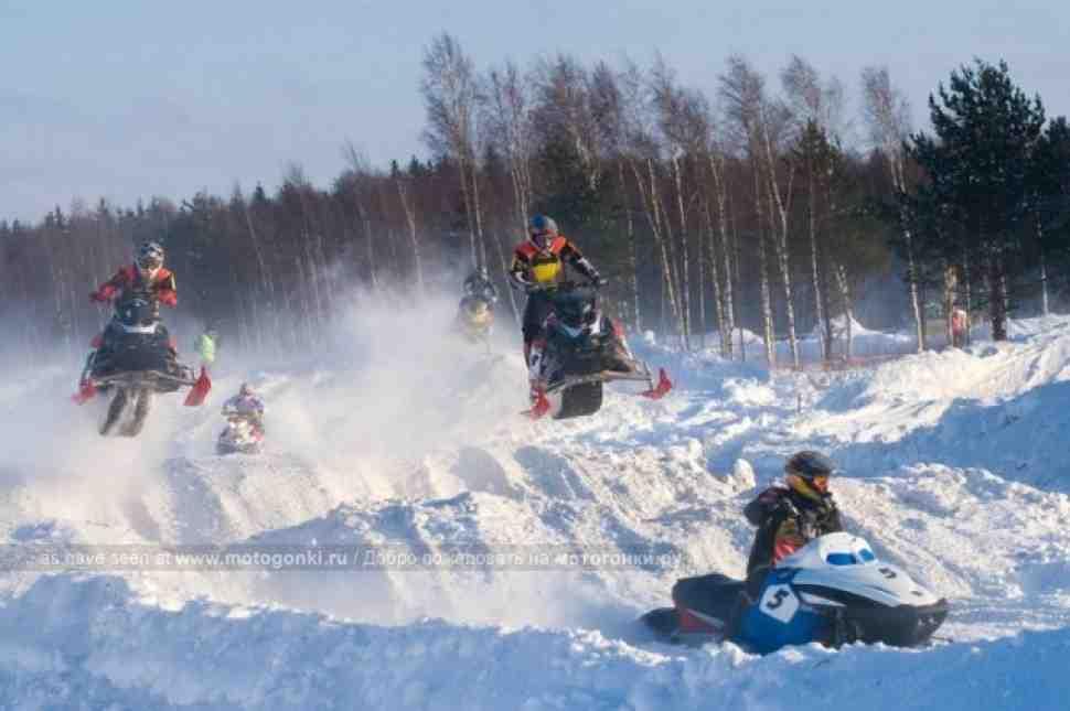 Результаты Кубка России по кроссу на снегоходах