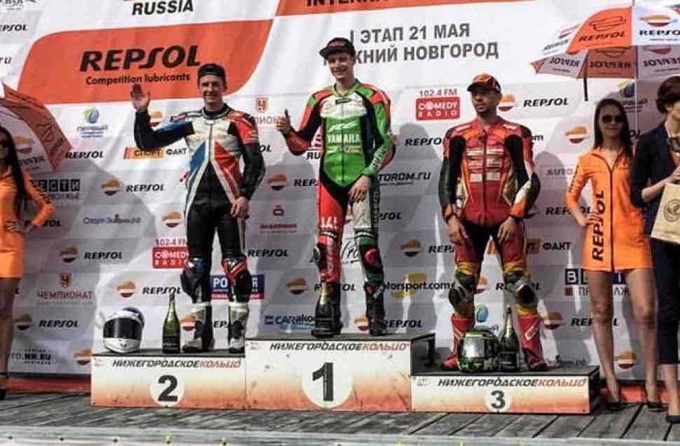 RSBK/Supersport: Иванов и Еремин доминировали в первой гонке на NRing