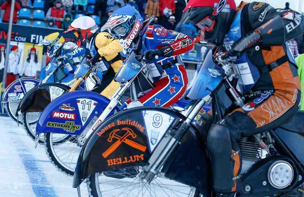 Сборная России по мотогонкам на льду взяла 34-е золото в КЧМ-2016