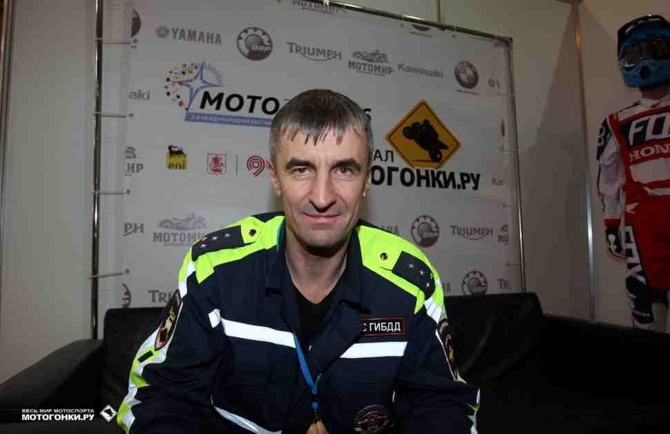 Сергей Денисов: мотобат - часть быстро прогрессирующего мотосообщества Москвы!