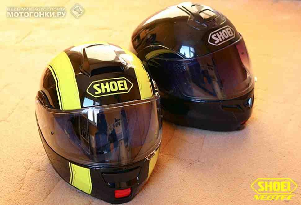 Шлемы: Shoei Neotec или Multitec - братья, но не близнецы