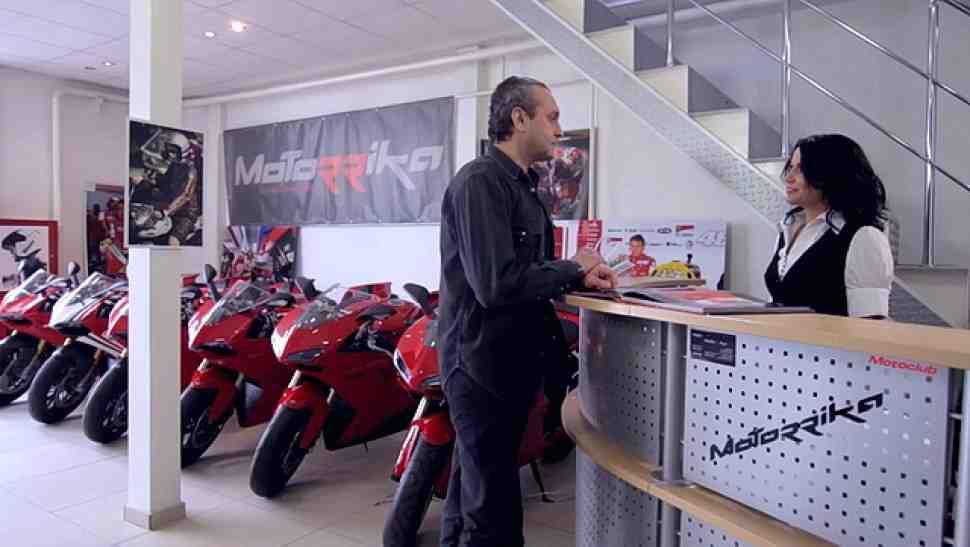 Спецусловия на зимнее хранение мотоциклов BMW и Ducati