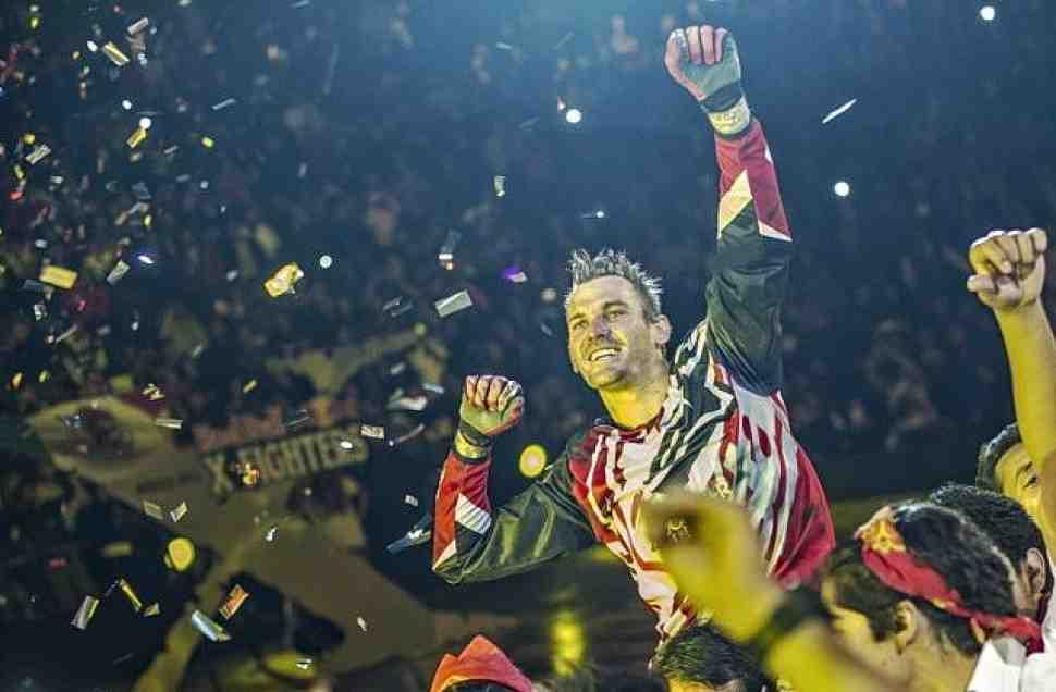 Старт сезона-2015 Red Bull X-Fighters в Мехико выиграл Мур
